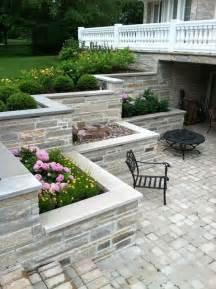 Small Backyard Decks Patios Burr Ridge Sunken Patio And Balcony Traditional Patio
