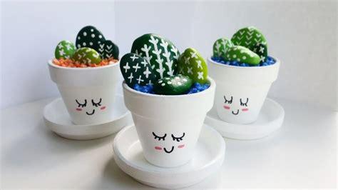 cute cactus pots mini hand painted cactus pots quot cute cacti quot 2562049