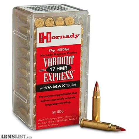 17 hmr ammo for sale bulk rounds in stock today armslist for sale hornady 17hmr 17hmr ammo rimfire ammo