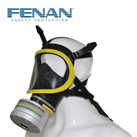 Masker Pemadam Kebakaran pemadam kebakaran perlindungan racun wajah penuh masker