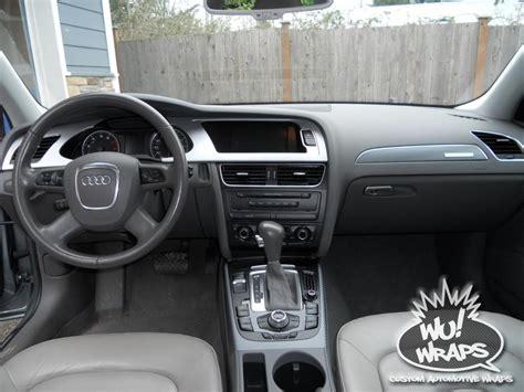 2009 2010 audi a4 main dash interior trim kit auto accessories 2009 audi a4 avant b8 interior trim vvivid vinyl 4d true r gunmetal carbon fiber aver