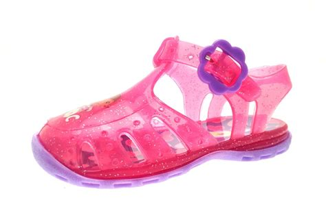 jellies shoes pink doc mcstuffins glitter jelly shoes