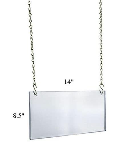 sign display holder ceiling sign holder hanging sign frame