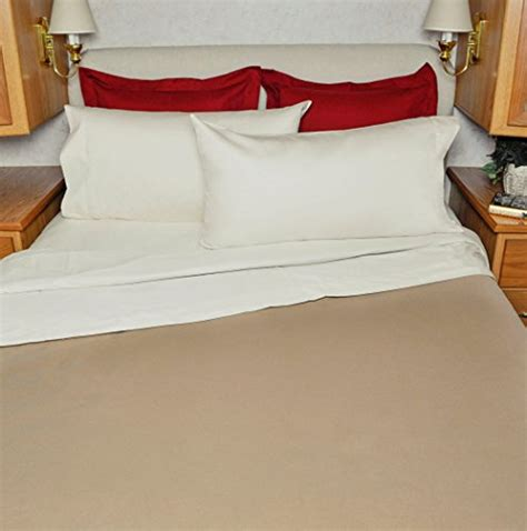 rv bed sheets rv sheet set 100 cotton for winnebago view over the cab