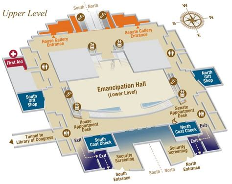 map us capitol capitol visitor center indoor map u s capitol visitor