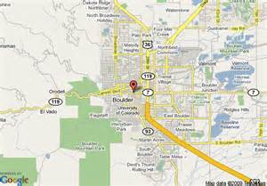 map of boulder creek quality inn and suites boulder