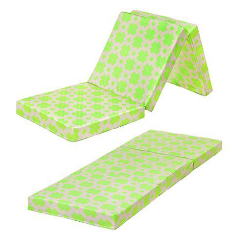 futon faltbar designer muster faltbar schaum matratze z bett fold gast