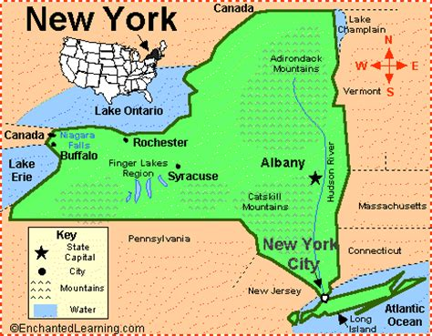 label new york state map printout enchantedlearning com new york map enchanted learning