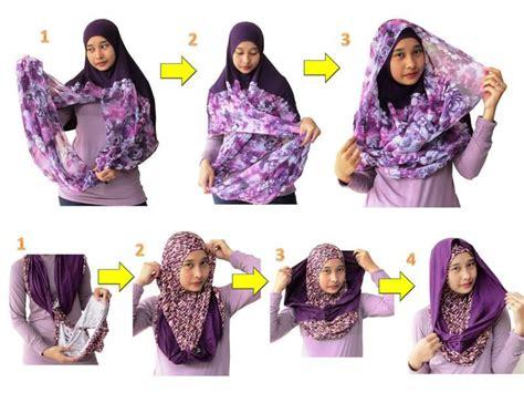 gambar tutorial jilbab ala zaskia sungkar pintar pakai jilbab gaya hijab fashion ala zaskia sungkar