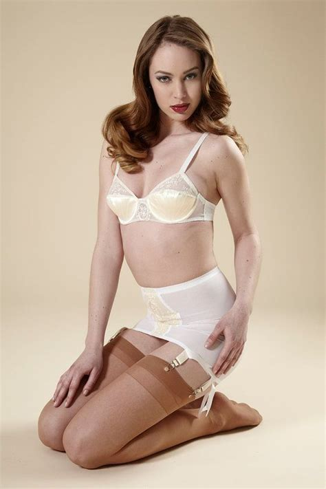 open bottom girdles stockings and garters pin up girdle wedding white garter skirt w vintage