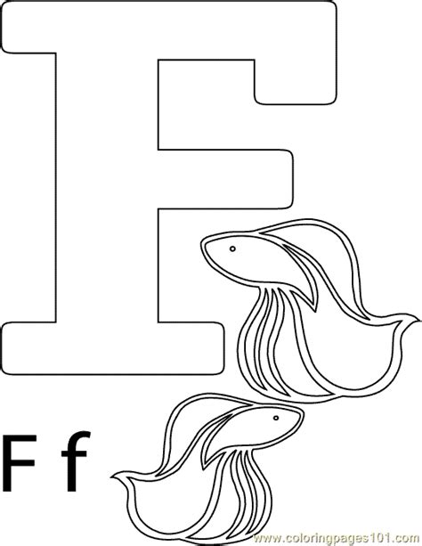 F Is For Fish Coloring Page Free Coloring Pages Of F Fish by F Is For Fish Coloring Page