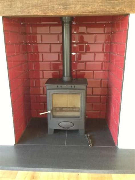 Slate Backsplash Tiles For Kitchen by 42 Best Images About Fireplaces Woodburner On Pinterest