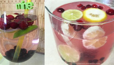 Berry Detox Water by 15 Beautiful Healthy Fruit Water Recipes To Replace Soda