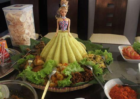 resep membuat nasi kuning dan lauk pauknya resep tumpeng nasi kuning barbie dan lauk pauk oleh