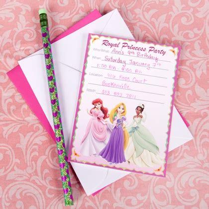 princess birthday invitation cards disney princess invitations disney family