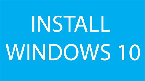 install windows 10 x205ta how to format and clean install windows 10 youtube