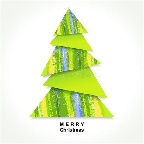 origami weihnachtsbaum lizenzfreie stockbilder bild