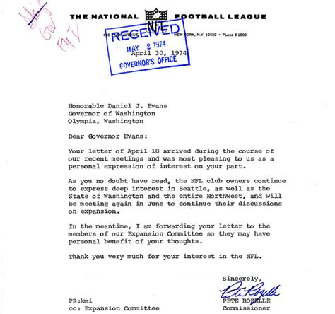 Football Team With Letter Z from the archives rozelle letters on nfl expansion