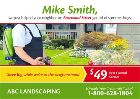 Landscaping Advertising Ideas Proven Landscape And Lawn Care Marketing Postcardmania