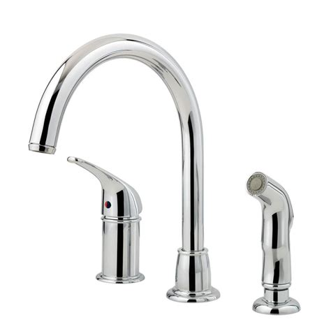 Classic Kitchen Faucet Faucet F Wk1 680c In Polished Chrome By Pfister