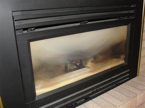 Soot From Gas Fireplace by Glass At Gas Fireplaces