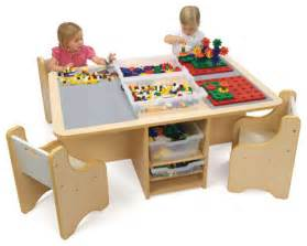 quad activity table with storage contemporary kids tables and chairs other metro by
