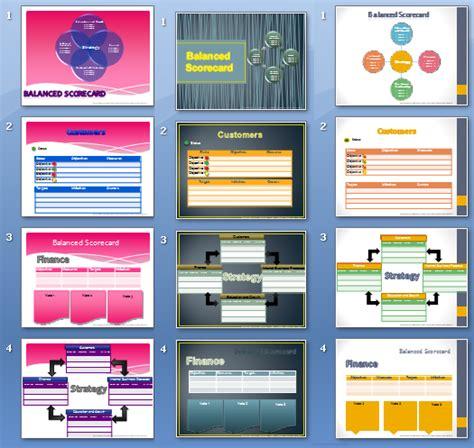 Balanced Scorecard Templates Download Ready To Use Balanced Scorecard Template Free