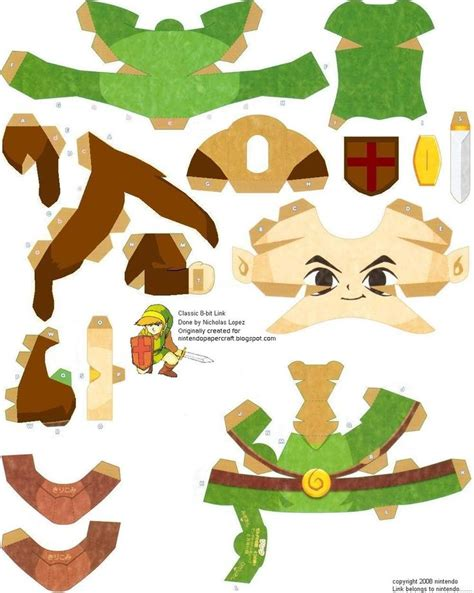 Link Papercraft - 17 best images about papercraft on disney