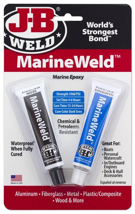 aluminum boat jb weld waterweld epoxy putty j b weld
