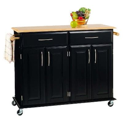 dolly madison kitchen island cart dolly madison kitchen island cart wood black natural