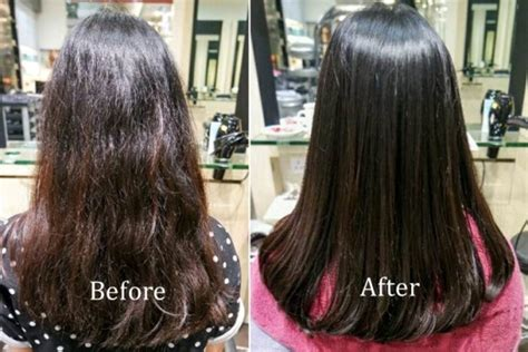 haircut before or after hair rebonding volume rebonding before and after 600 215 400 saloni health