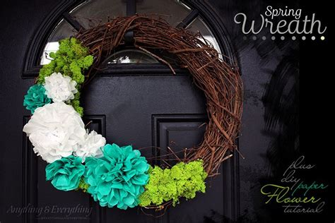 How To Make A Tissue Paper Wreath - 25 best ideas about tissue paper wreaths on