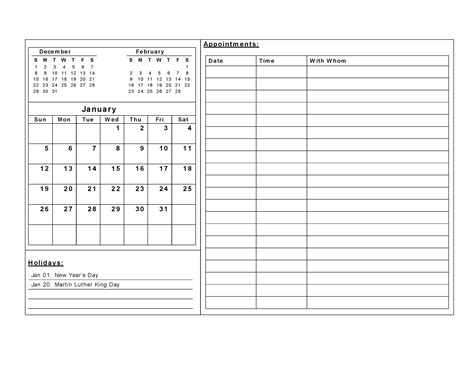 printable calendar templates activity shelter
