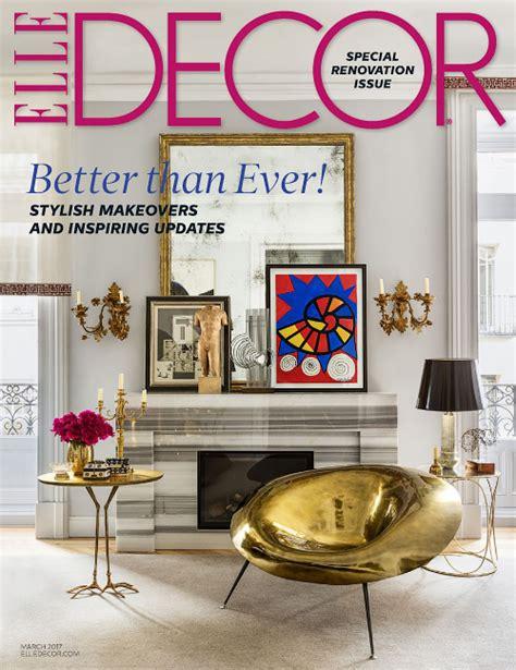 home decor magazines usa elle decor usa march 2017 187 pdf magazines archive