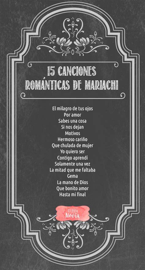 musica entrada novio boda civil 15 canciones rom 225 nticas de mariachi para la boda el