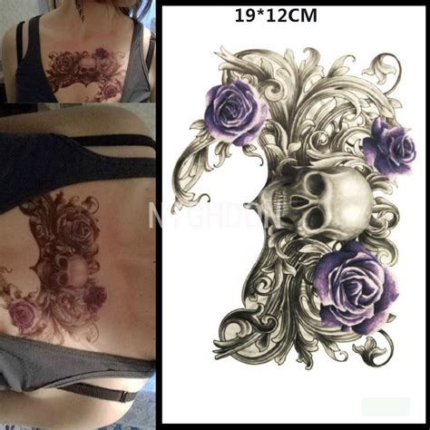 cheap tattoo ideas for men popular purple flower designs buy cheap purple