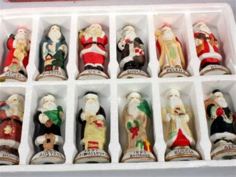 santas of the world figurines 28 images santas from