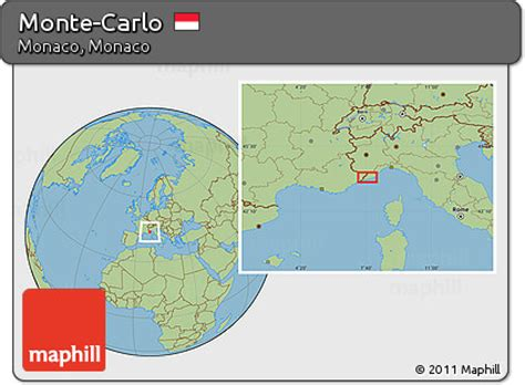 world map monte carlo free savanna style location map of monte carlo