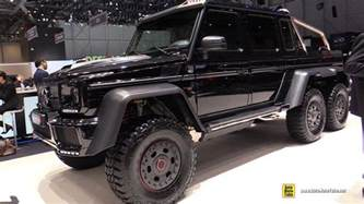 2015 mercedes g63 amg 6x6 brabus 700 exterior and