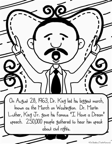 martin luther king coloring pages kindergarten martin luther king jr free coloring pages and worksheets