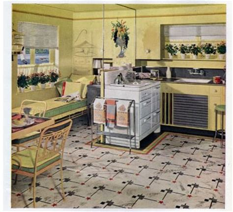 vintage kitchen lighting a 1940 s retro theme for your 1940s style kitchen kitchen design photos