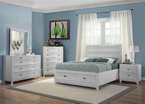 zandra white platform storage bedroom set  homelegance   coleman furniture