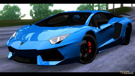 Lamborghini Aventador Mod Lamborghini Aventador Carbon Tuned For Gta San Andreas