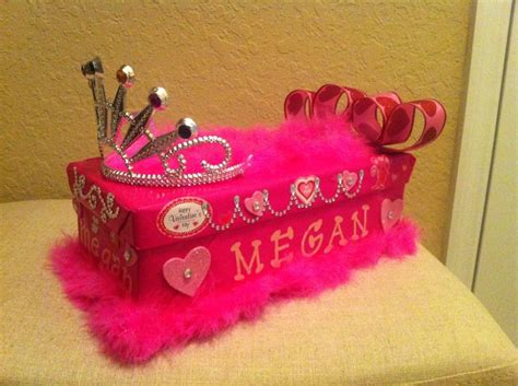 valentines day box for a princess valentines day