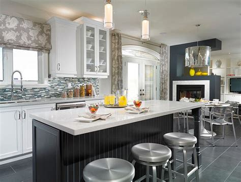 modern kitchen window treatments five areas of your home that look great dressed in tile