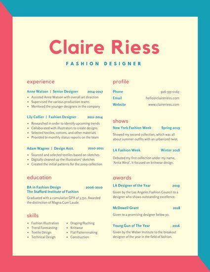 free colorful resume templates resume templates free colorful images certificate design