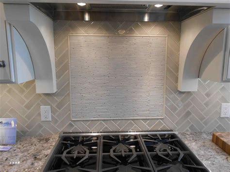 marble subway tile kitchen backsplash with feature time feature tiles kitchen deductour com