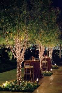 how to string lights on outdoor trees decoracion de bodas luces blancas arte y decoracion