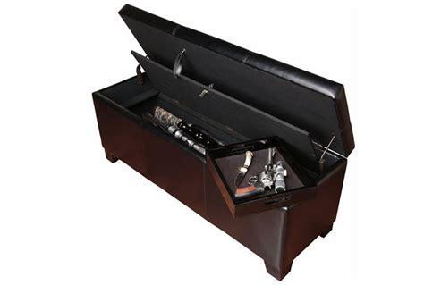 castlecreek gun concealment end table compartment furniture secret concealment