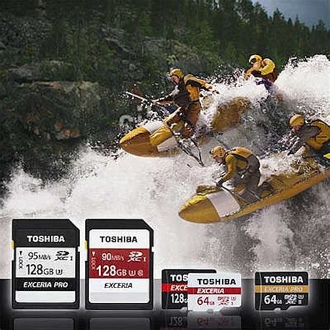 Toshiba Sd Card Exceria Pro Uhs Ii R260mb S W240mb S 16gb toshiba announces new exceria pro uhs ii cards